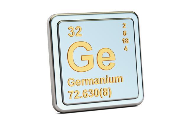 Germanium Ge Chemical Element Sign