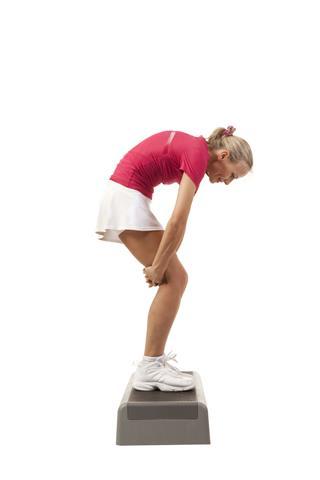Step Aerobics Stretching