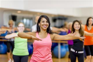 Dance Fitness Gym Class