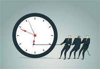 Effort to stop clock