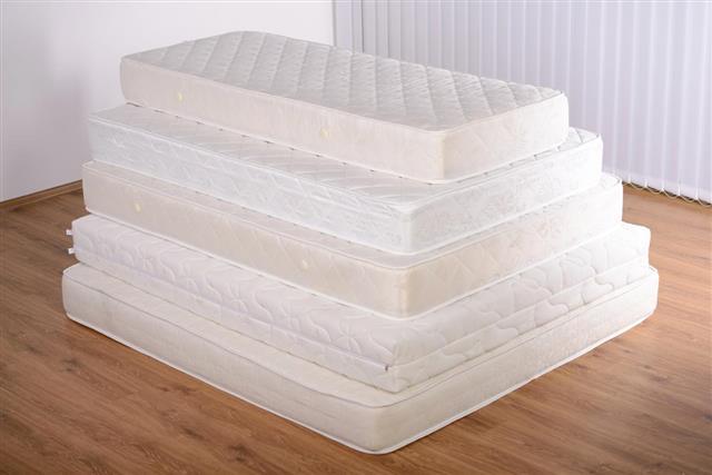 Many mattresses