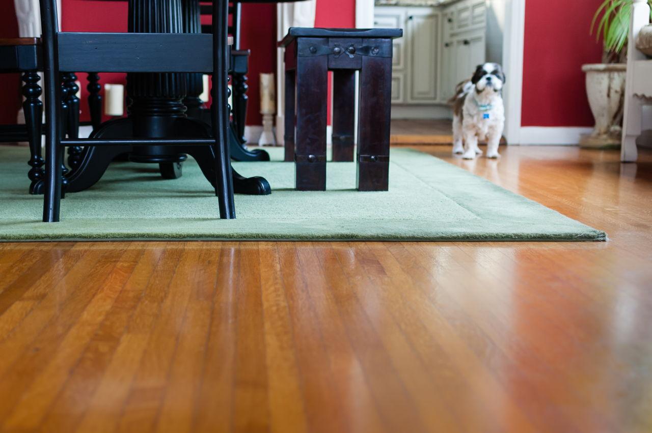 how to clean teak wood floors