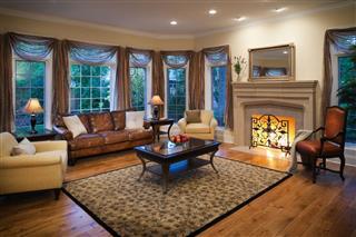 Lovely Residential Living Room