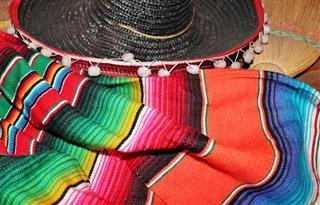 Poncho Serape Rug Blanket