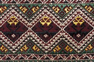 Colorful Thai Silk Handcraft