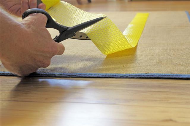 Scissors Cutting Rug Grip Tape