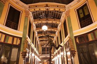 Pasaje Gutierrez Of Valladolid At Night