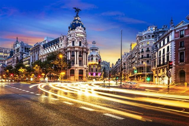 Madrid City Center Gran Vis Spain