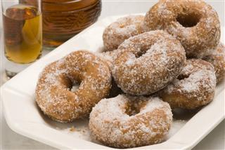 Spanish Cuisine Sweet Fritters