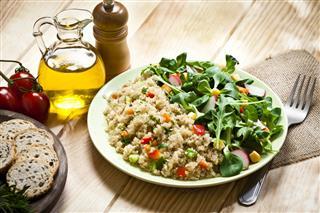 Quinoa Salad Plate