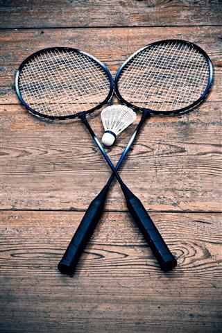 Vintage Badminton Racket