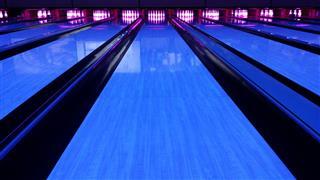 Bowling Lane Black Light