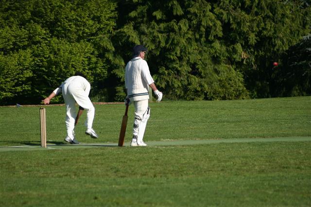 Man Throwing Cricket Ball
