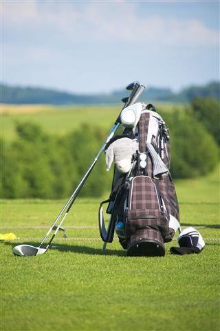 Golf Clubs And Golf Bag