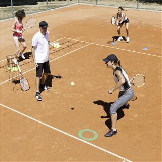 Cardio Tennis Class