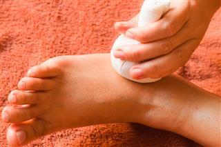 Reflexology Foot Massage Spa Treatment