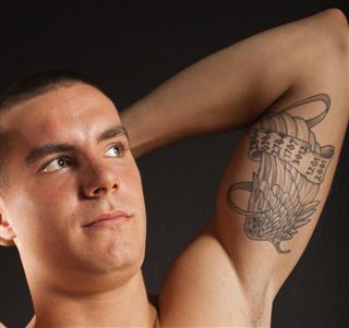 Attractive Male Arm Tattoo