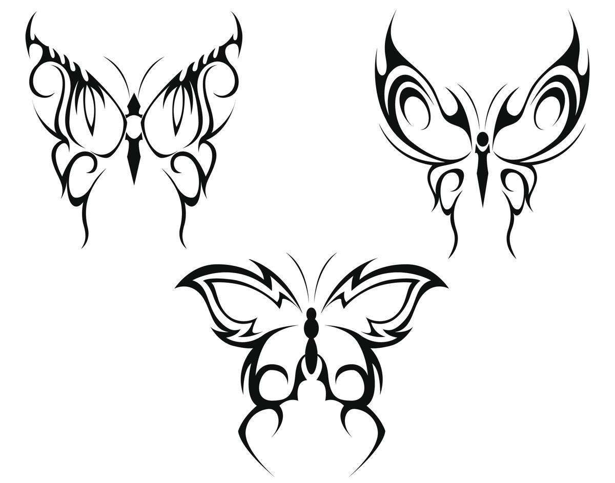 5e3d6cb1a Butterfly tattoo illustration