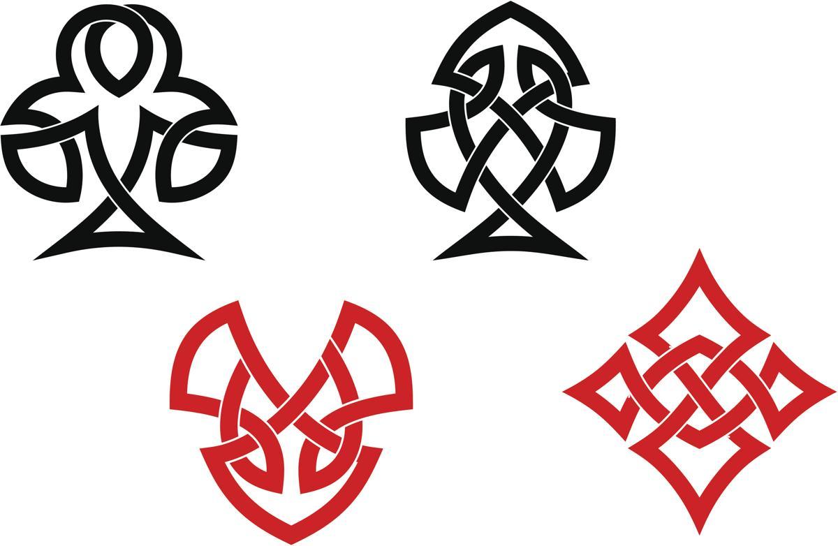 Celtic armband tattoos black and red celtic tattoo buycottarizona