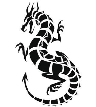 Dragon vector illustration