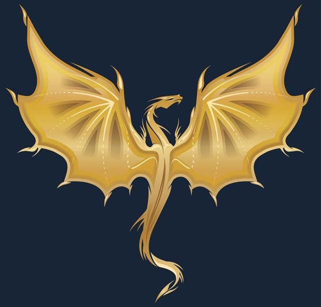 Golden Dragon Tattoo