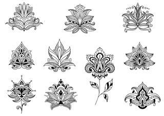 Floral Pattern Tattoo