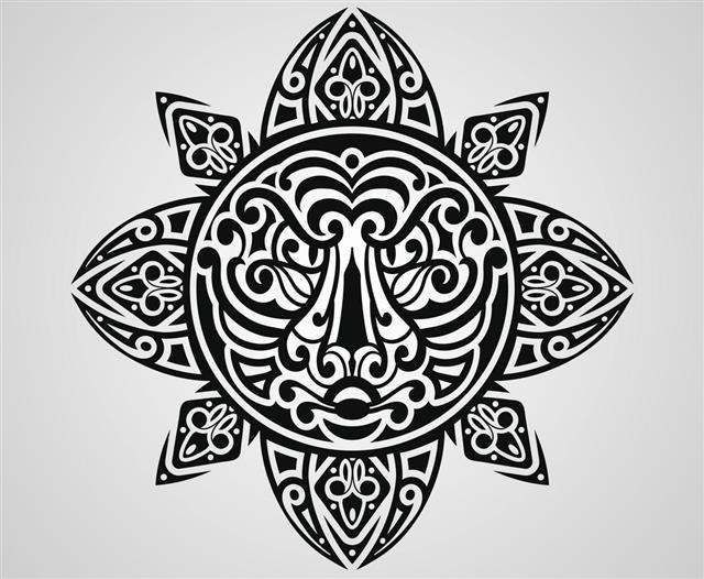 Hawaiian Vector Tattoo