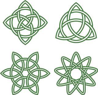 Celtic Irish knots