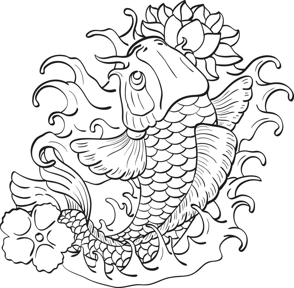 Fish tattoo designs fish tattoo designs koi fish with lotus izmirmasajfo