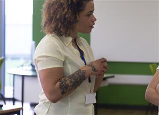 Hand tattoo woman