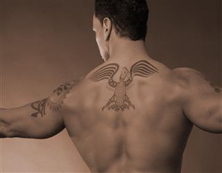 Spread Eagle Tattoo