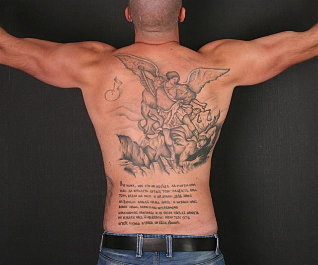 Tattoo On Back