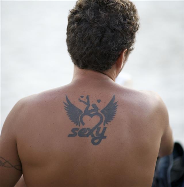 Tattoo Of Sexy Brazilian Man Close Up