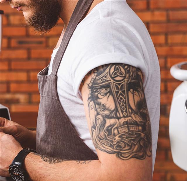 Artsy tattoo
