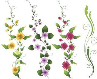 Flower Vine Design