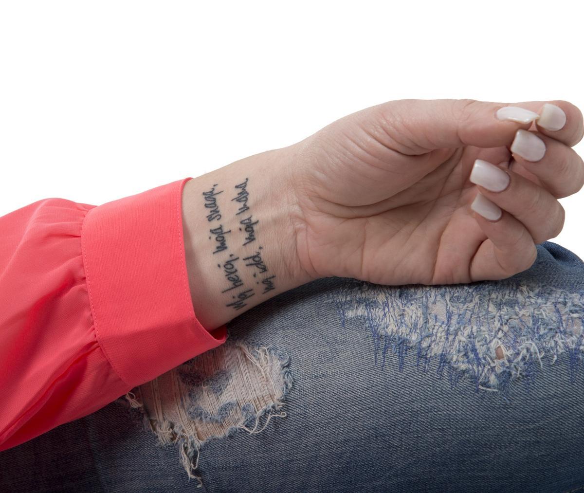 Blowball Text Tattoo: 9 Beautiful Tattoo Designs That Symbolize Hope