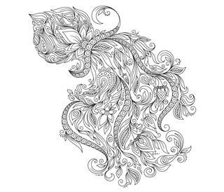 Pattern for Zodiac Aquarius