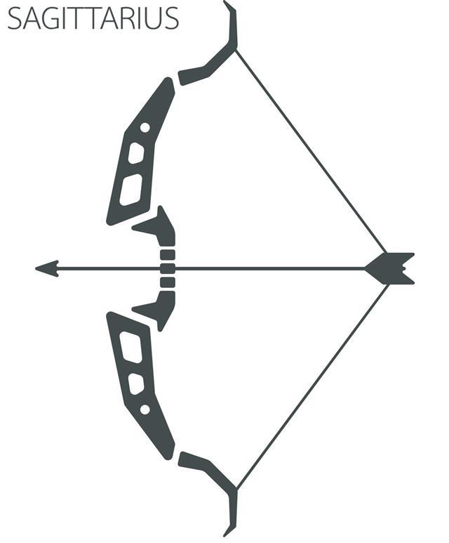 Sagittarius zodiac tattoo