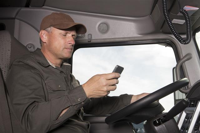 Trucker Texting
