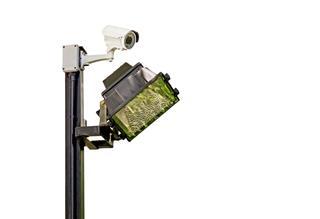 Traffic Surveillance Camera With Lights