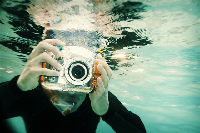 Snorkeling Photographer