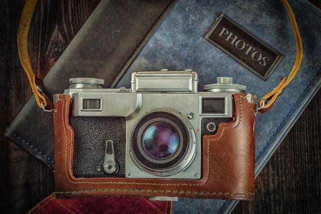 Old Retro Vintage Camera