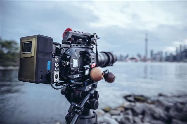 Video Camera On Toronto Island