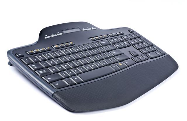 Wireless Black Computer Keyboard