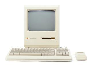 Mac Plus Computer