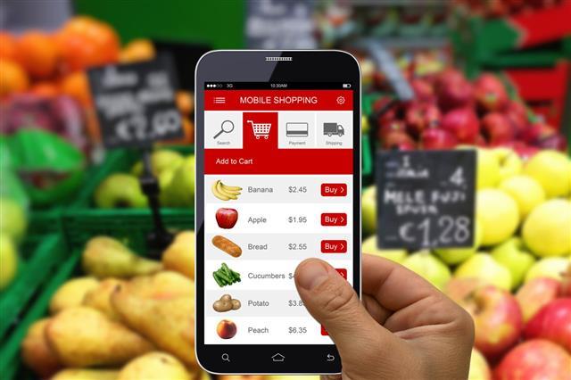 Mobile Phone Shopping App
