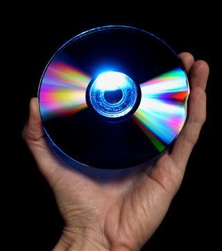 Blu Ray Dvd In Hand