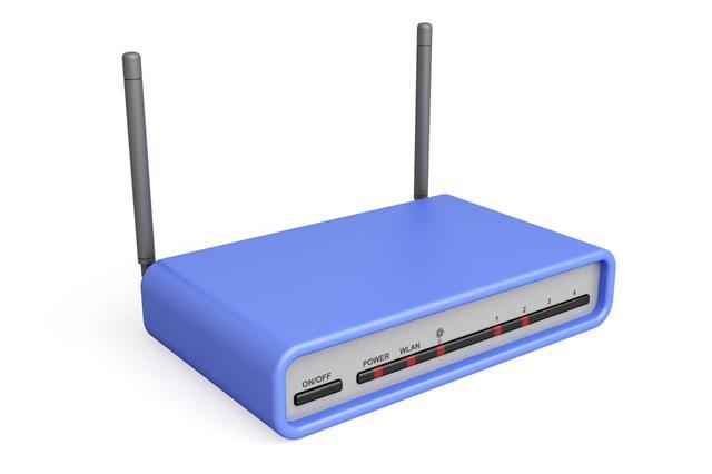 Blue Router