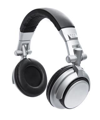 Silver Cordless Headphones