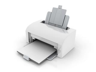 White Laser Printer